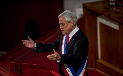 President Piñera defended his decision saying he wants