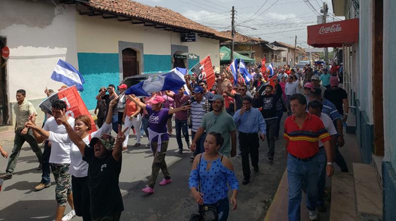 Cada vez son más los ciudadanos que se suman al clamor de paz en Nicaragua.