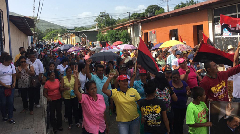 El pueblo se une para derrotar al golpe de estado suave que se pretende dar en Nicaragua.