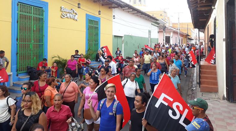 Varias ciudades se sumaron a la exitosa caravana por la paz y la reconciliación en Nicaragua, entre ellas: Nueva Segovia, Somoto, Granada, Chinandega y León.