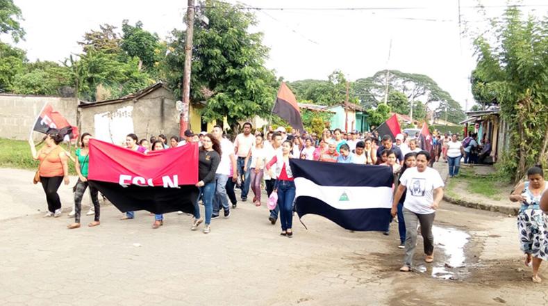 Los nicaragüenses quieren vivir en armonía y se unen en una sola voz para que la paz sea restablecida en Nicaragua.