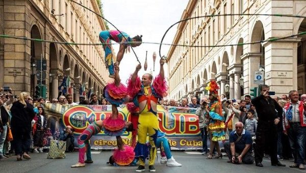 Ranked alongside some of the top performers, the National Circus of Cuba is considered one of the top five circus troupes in the world.