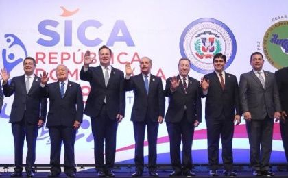 The document was signed by representatives from the Dominican Republic, Costa Rica, El Salvador, Guatemala, Panama, Honduras, Belize, and Nicaragua.