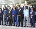 CARICOM Heads share a joint photo ahead of Thursday's meetings at the 39th Regular Meeting in Montego Bay, Jamaica.