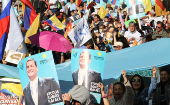 Thousands marched through Quito in support of former President Rafael Correa, accused of involvement in a failed kidnapping.