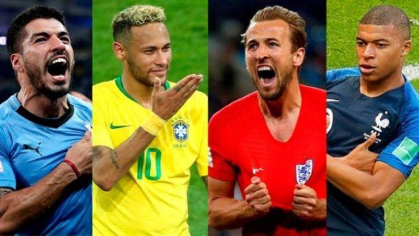 Números e historias en los cuartos de final del Mundial 2018 ...