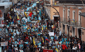 Ecuadoreans March Against Political Persecution, Neoliberal Reforms