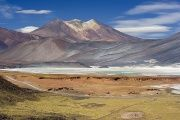Chile's government is drafting a climate change law to protect its rich natural resources, such as Miscanti Lagoon.