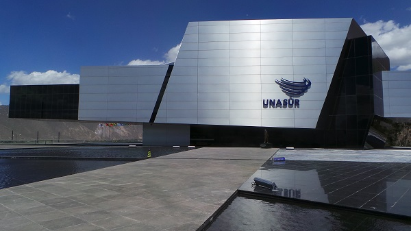 Moreno has offered Unasur's HQ to the Intercultural University of the Amawtay Wasi Indigenous Nationalities and Peoples.