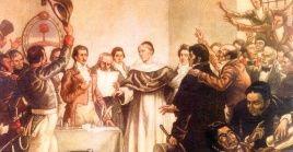 La declaración de independencia se llevó a cabo en la provincia de Tucumán.