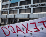 After four years the Ecuador's Constitutional Court ruled against Chevron.