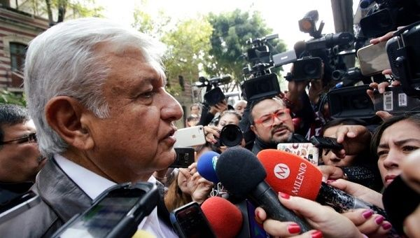 "AMLO has suggested ""transitional justice"" to stem the violence resulting from 12 years of militarized drug war."