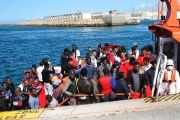 Malta refused to allow the migrants entry, saying the boat was much closer to the Italian island of Lampedusa.