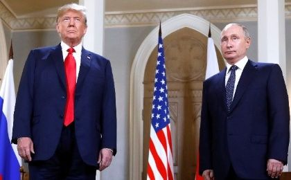 Trump and Putin are also scheduled to hold a working lunch late Monday prior to addressing the media.
