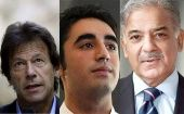 Among the top contenders for head of government are three politicians from Pakistan