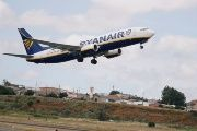 A Ryanair Boeing 737-800 plane takes off at Lisbon airport in Portugal, July 5, 2018