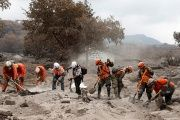 Nineth Montenegro says the government paid US$320,111 too much for emergency supplies after Fuego volcano erupted.