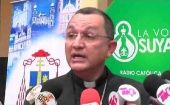 """If I have failed you, I ask for forgiveness,"" Bishop Juan Jose Pineda Fasquelle, of the Archdiocese of Tegucigalpa, said."