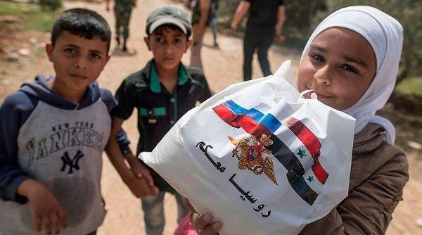 Resultado de imagen para ayuda humanitaria de rusia a siria