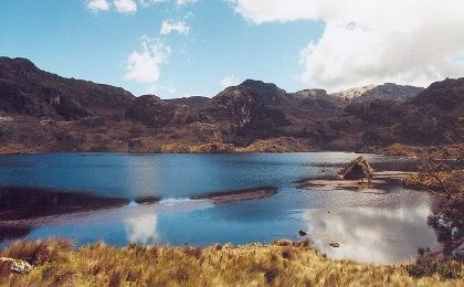 El Cajas National Park is of vital importance for the population and environment of Cuenca, in southern Ecuador.