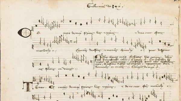 El pergamino musical podría ser el manuscrito más antiguo encontrado hasta ahora.