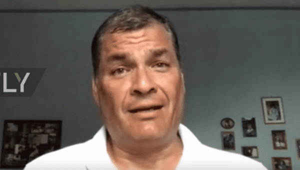 Rafael Correa was interviewd by Russia Today Saturday.