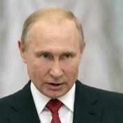 El presidente ruso, Vladimir Putin, durante la ceremonia del Premio Estatal de la Federación de Rusia que se otorga a ciudadanos destacados