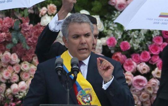 """""""Las víctimas deben contar con que habrá reparación moral, material y económica"""", aseguró el nuevo mandatario colombiano."""