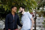 Roberth Castillo and Mario Arias, the first gay couple forced to suspend their wedding in January this year after notaries refused to recognize same-sex marriage in Costa Rica despite the IACHR ruling.