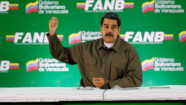 President Nicolas Maduro said the attack was an attempt to divide the armed forces of Venezuela.