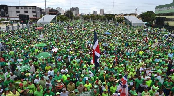 Image result for la marcha verde republica dominicana