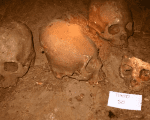According to archaeologists at a Mexico City news conference, three sets of human remains were unearthed at the Puyil cave located in the Tacotalpa municipality