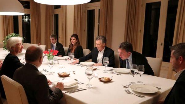 Mauricio Macri sostuvo varias reuniones con la directora del FMI para acordar el préstamo.