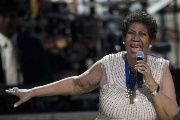 BET honoree singer Aretha Franklin performs onstage at BET Honors 2014 at Warner Theatre in Washington on February 8, 2014