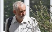 Britain's opposition Labour party leader Jeremy Corbyn leaves his house in London, Britain, August 6, 2018.
