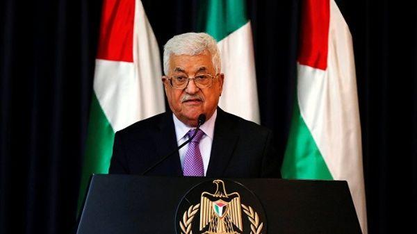 El jefe de Estado palestino, Mahmud Abásinauguró el Consejo Central dela Organización para la Liberación dePalestina(OLP).