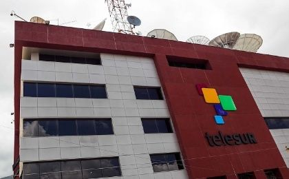 teleSUR headquarters in caracas, Venezuela.