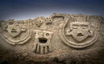 """The reliefs symbolize the fertilization of the earth: snakes represent the deity,"" archaeologist Ruth Shady Solis said."