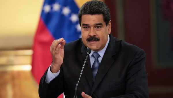 President Nicolas Maduro announces new minimum wage.