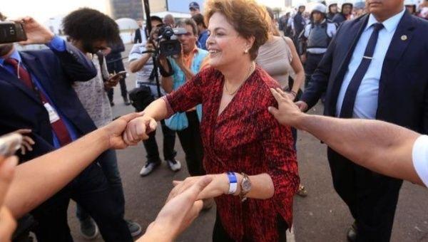 Former Brazilian President Dilma Rousseff leads the senatorial race in Minas Gerais, Brazil.