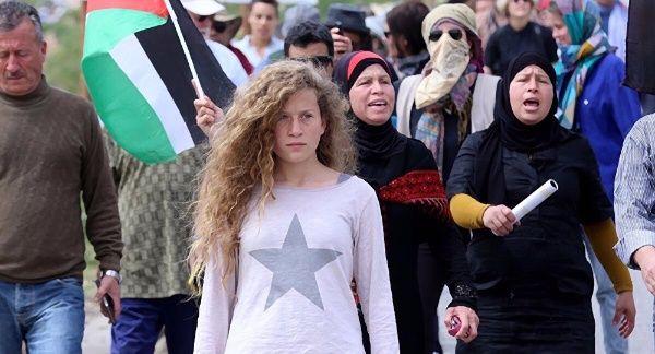 La joven palestina pidió a los gobiernos del mundo presión política y apoyo a la causa palestina, sobre todo a los presos y presas en Israel.