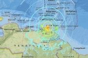 Large Earthquake Off Northern Venezuelan Coast