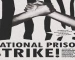 Poster for the national prison strike in the United States.