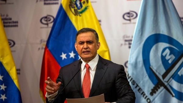 Venezuelan Attorney General Tarek William Saab.