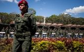 The Bolivarian National Armed Forces (FANB) is active along the border, due to the high rate of drug trafficking from Colombia, the ministry said.
