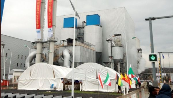 Ethiopia launches the waste-to-energy Reppie facility, the first of its kind in Africa.