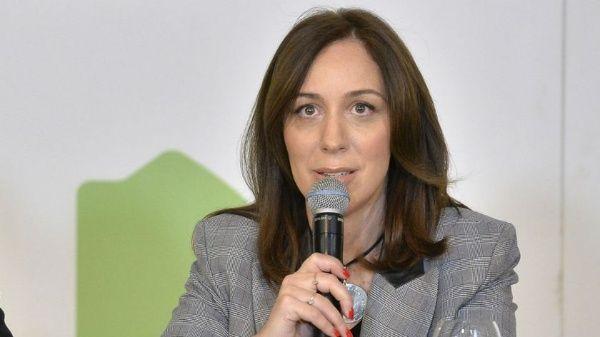 La gobernadoras bonaerense María Eugenia Vidal negó contar con aportes truchos en su campaña.
