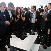 Por Lula, Cristina, Correa y Maduro