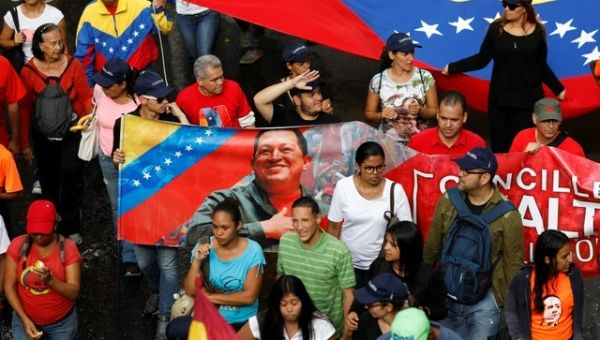 Venezuelans took to the streets of Caracas earlier this week in a show of support for the new economic reforms that took effect as part of the government