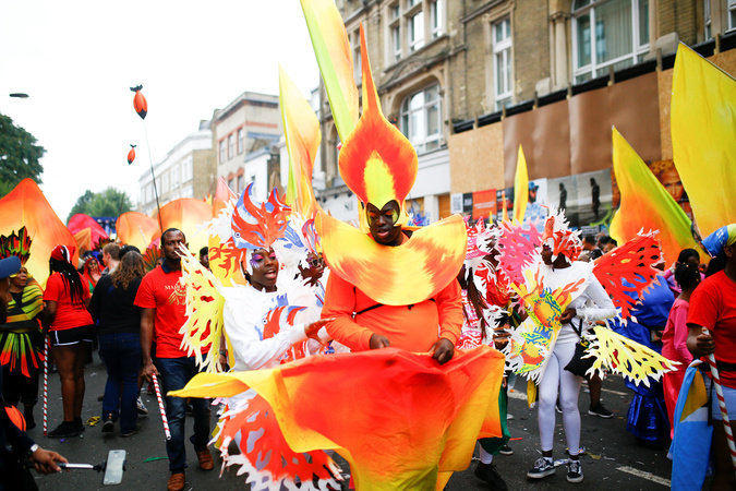 The Notting Hill Carnival, whose route passes near the site of the fire, is a symbol of interracial tolerance which dates back to the 1960s and celebrates the Afro-Caribbean community.